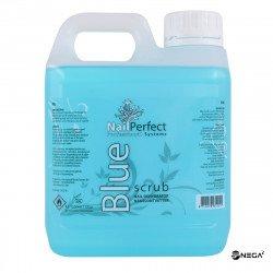 Cleaner NP BLUE SCRUB - tekočina za čiščenje in dehidracijo nohta,  1000 ml.