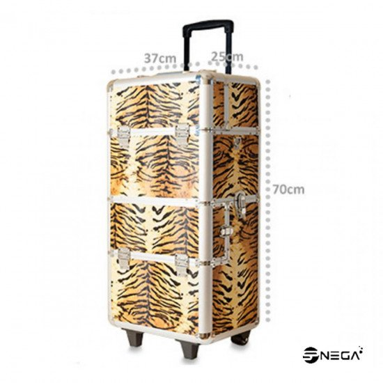 KOZMETIČNI KOVČEK NA KOLESIH TIGER XL  Kozmetični kovčki in vozički