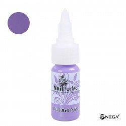 Nail Art svetlo vijolična barva za poslikavo, 15ml