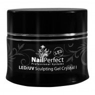 NP LED Gel Crystal  Clear I, 14g