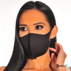 Pralna zaščitna maska za obraz vzorec 1, velikost L/XL