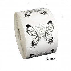 Šablone v kolutu za geliranje metulj black