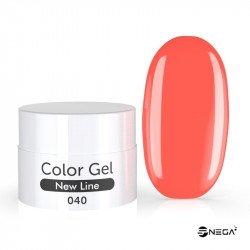 UV Gel  barvni MAT 40 CORAL