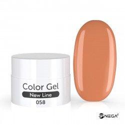 UV Gel  barvni MAT 58 SAND