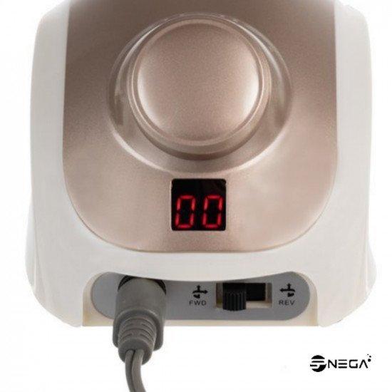 Brusilnik za manikuro in pedikuro 35W z LCD zaslonom in 160 nastavkov  Električni brusilniki za nohte
