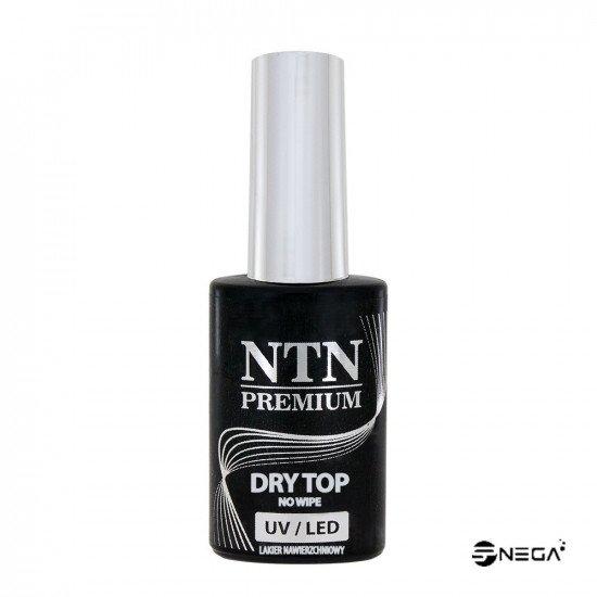 NTN permanentni nadlak TOP-NO WIPE Gel polish BASE & TOP za nohte