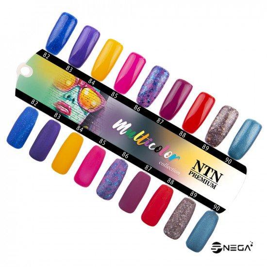 NTN PREMIUM permanentni barvni lak za nohte 082 Permanentni zelo pokrivni gel laki