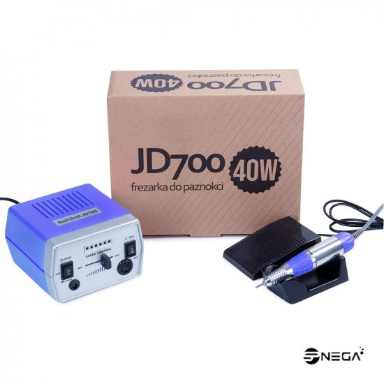Brusilnik za manikuro z nastavki JD700 V Brusilniki in nastavki za nohte