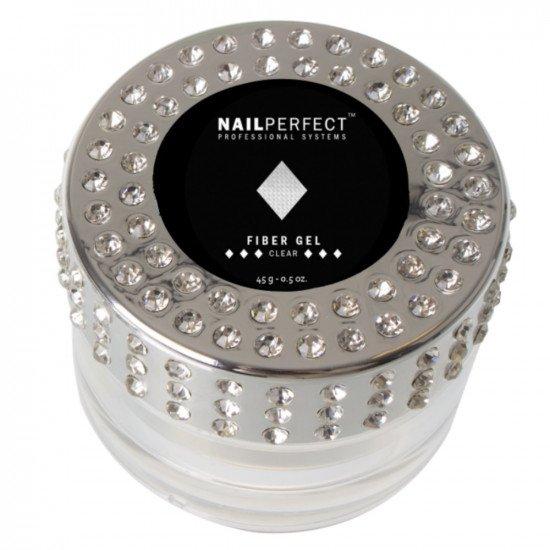 Fiber Gel gradilni Prozoren-Clear, 45g Geli za nohte