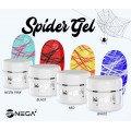 Spider barvni geli