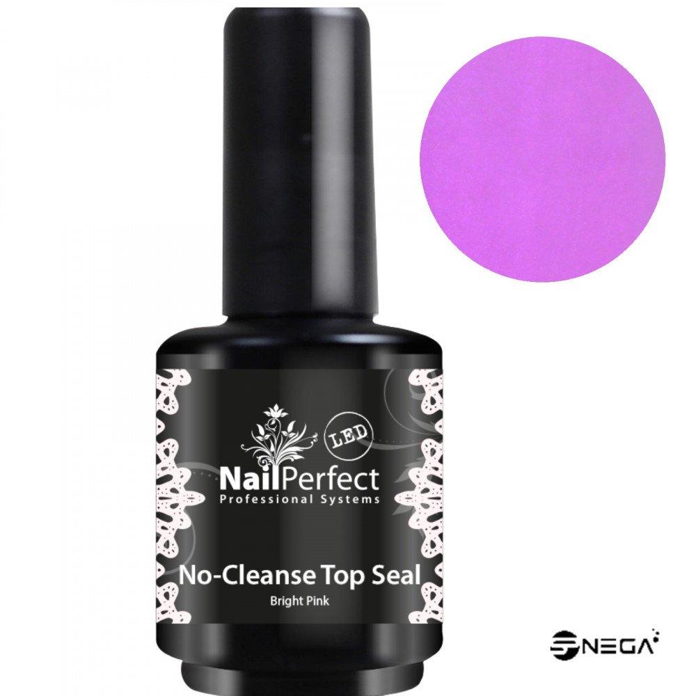 NP No-Cleanse Top Seal BABYBOOM Bright Pink, 15 ml