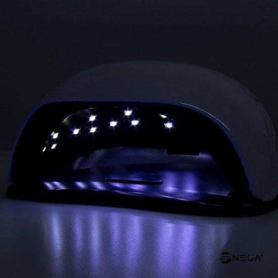 UV LUČKA DUAL LED 54 W s senzorjem za avtomatski vklop UV, LED lučke za nohte